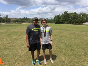 Carson Mohr - Gatorade G Award Winner with NFL Punter Rich Camarillo